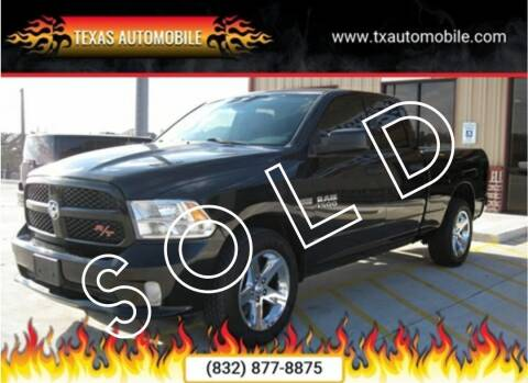 2014 RAM Ram Pickup 1500 for sale at TEXAS AUTOMOBILE in Houston TX