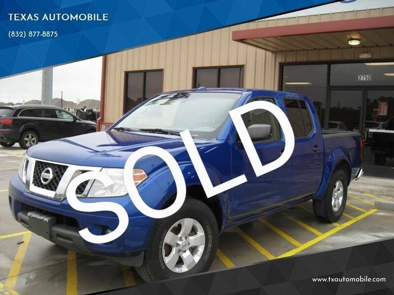 2013 Nissan Frontier for sale at TEXAS AUTOMOBILE in Houston TX