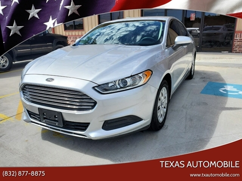 2014 Ford Fusion for sale at TEXAS AUTOMOBILE in Houston TX