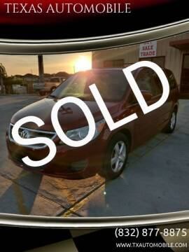 2011 Volkswagen Routan for sale at TEXAS AUTOMOBILE in Houston TX
