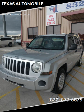 2008 Jeep Patriot for sale at TEXAS AUTOMOBILE in Houston TX