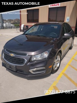 2015 Chevrolet Cruze 1LT Auto for sale at TEXAS AUTOMOBILE in Houston TX