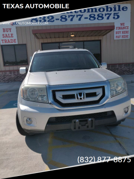 2011 Honda Pilot EX for sale at TEXAS AUTOMOBILE in Houston TX