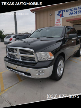 2009 Dodge Ram Pickup 1500 Laramie for sale at TEXAS AUTOMOBILE in Houston TX