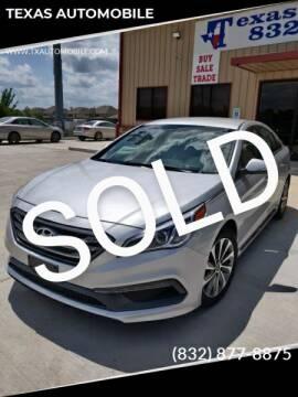 2015 Hyundai Sonata for sale at TEXAS AUTOMOBILE in Houston TX