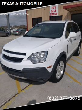 2013 Chevrolet Captiva Sport for sale at TEXAS AUTOMOBILE in Houston TX