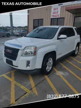 2014 GMC Terrain SLE-1 for sale at TEXAS AUTOMOBILE in Houston TX