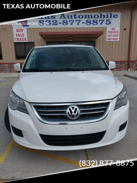 2012 Volkswagen Routan SE for sale at TEXAS AUTOMOBILE in Houston TX