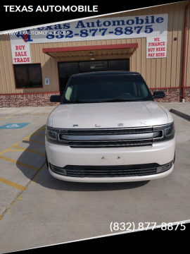 2013 Ford Flex Limited for sale at TEXAS AUTOMOBILE in Houston TX