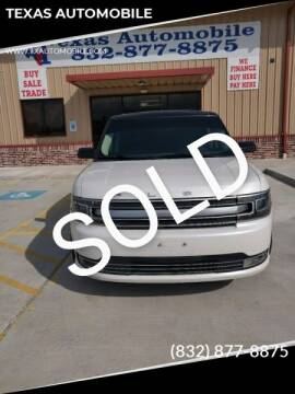 2013 Ford Flex for sale at TEXAS AUTOMOBILE in Houston TX