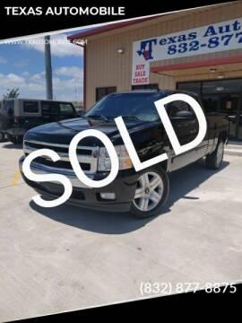 2007 Chevrolet Silverado 1500 for sale at TEXAS AUTOMOBILE in Houston TX