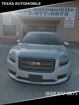 2013 GMC Acadia SLT-1 for sale at TEXAS AUTOMOBILE in Houston TX