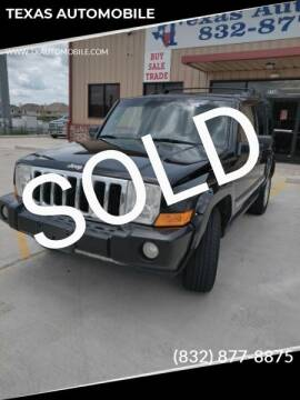 2007 Jeep Commander for sale at TEXAS AUTOMOBILE in Houston TX