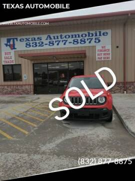 2015 Jeep Renegade for sale at TEXAS AUTOMOBILE in Houston TX