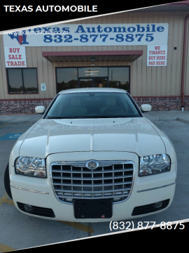 2007 Chrysler 300 for sale at TEXAS AUTOMOBILE in Houston TX