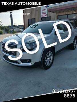 2013 GMC Acadia for sale at TEXAS AUTOMOBILE in Houston TX