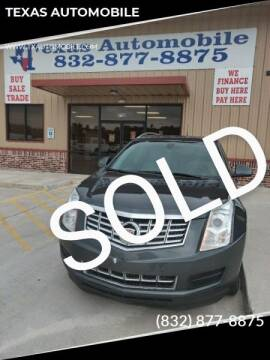 2013 Cadillac SRX for sale at TEXAS AUTOMOBILE in Houston TX