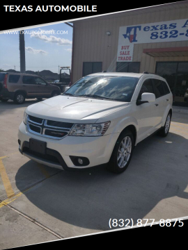 2012 Dodge Journey for sale at TEXAS AUTOMOBILE in Houston TX