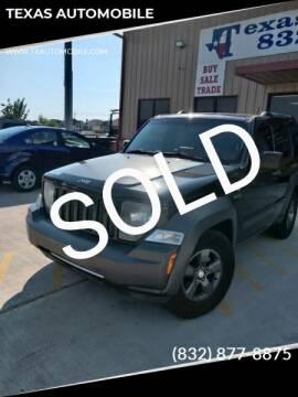 2011 Jeep Liberty for sale at TEXAS AUTOMOBILE in Houston TX