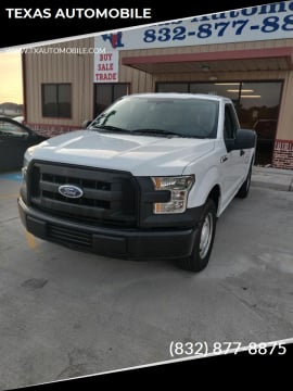 2015 Ford F-150 for sale at TEXAS AUTOMOBILE in Houston TX