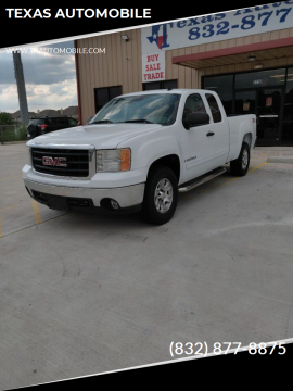 2008 GMC Sierra 1500 for sale at TEXAS AUTOMOBILE in Houston TX