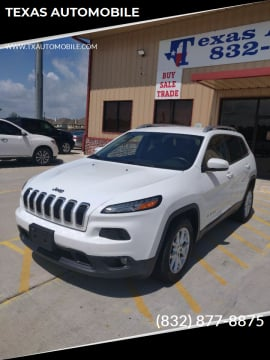 2016 Jeep Cherokee for sale at TEXAS AUTOMOBILE in Houston TX