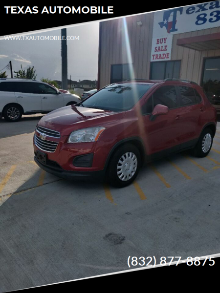 2015 Chevrolet Trax for sale at TEXAS AUTOMOBILE in Houston TX