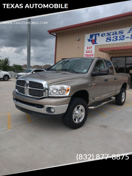 2009 Dodge Ram Pickup 2500 for sale at TEXAS AUTOMOBILE in Houston TX