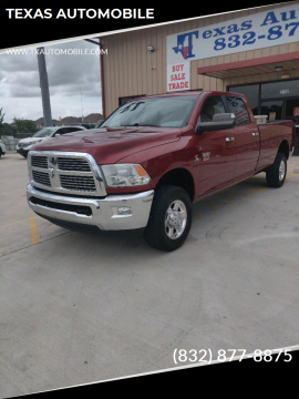 2012 RAM Ram Pickup 3500 for sale at TEXAS AUTOMOBILE in Houston TX