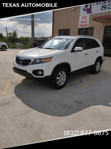 2011 Kia Sorento for sale at TEXAS AUTOMOBILE in Houston TX