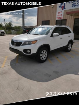 2011 Kia Sorento for sale at TEXAS AUTOMOBILE in Houston TX