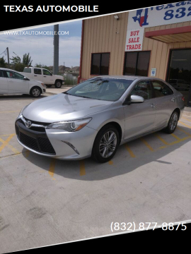 2017 Toyota Camry for sale at TEXAS AUTOMOBILE in Houston TX