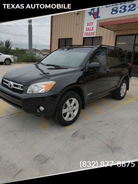 2006 Toyota RAV4 for sale at TEXAS AUTOMOBILE in Houston TX