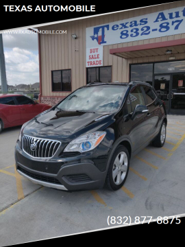 2015 Buick Encore for sale at TEXAS AUTOMOBILE in Houston TX