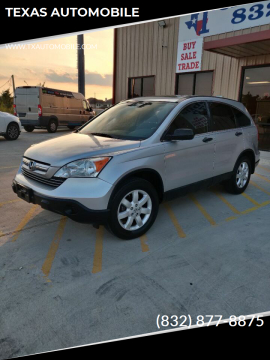 2009 Honda CR-V for sale at TEXAS AUTOMOBILE in Houston TX