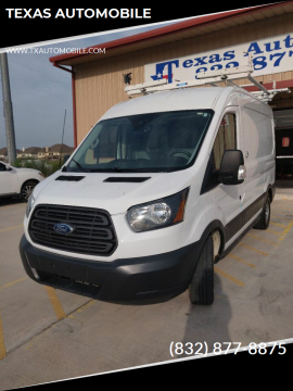 2015 Ford Transit Cargo for sale at TEXAS AUTOMOBILE in Houston TX