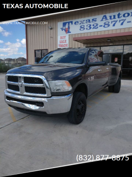 2014 RAM Ram Pickup 3500 for sale at TEXAS AUTOMOBILE in Houston TX