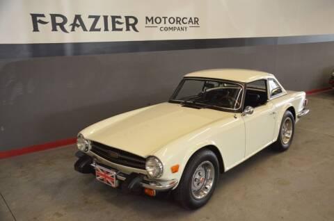 1976 Triumph TR6 for sale at Frazier Motorcar Company in Lebanon TN