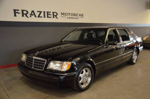 1999 Mercedes-Benz S-Class S 320 LWB for sale at Frazier Motorcar Company in Lebanon TN