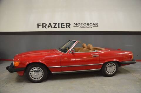 1989 Mercedes-Benz 560-Class 560 SL for sale at Frazier Motorcar Company in Lebanon TN