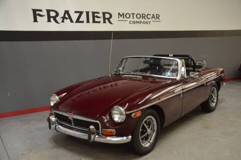 1973 MG MGB for sale at Frazier Motorcar Company in Lebanon TN