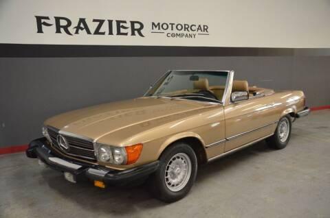 1985 Mercedes-Benz 380-Class 380 SL for sale at Frazier Motorcar Company in Lebanon TN
