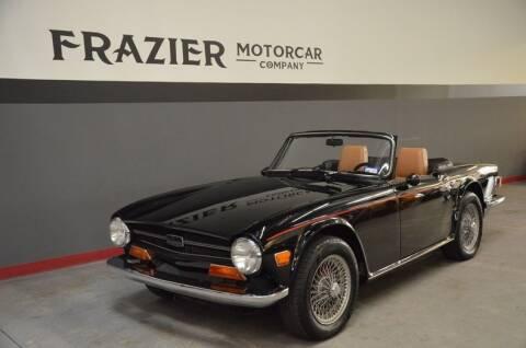 1969 Triumph TR4 for sale at Frazier Motorcar Company in Lebanon TN