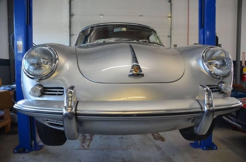 1964 Porsche 356 (image 51)