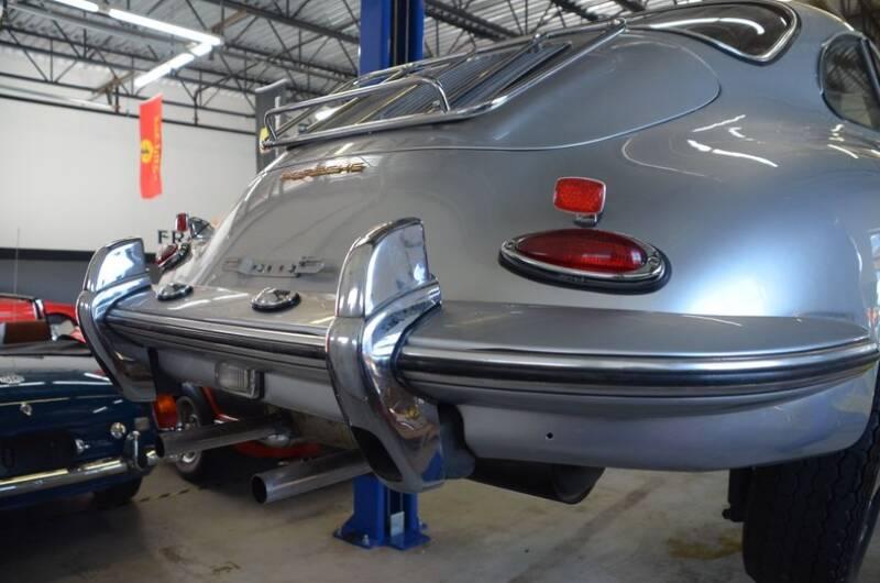 1964 Porsche 356 (image 58)