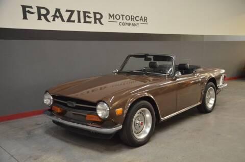 1974 Triumph TR6 for sale at Frazier Motorcar Company in Lebanon TN