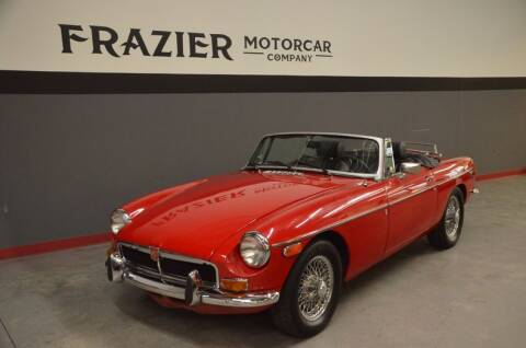 1976 MG MGB for sale at Frazier Motorcar Company in Lebanon TN