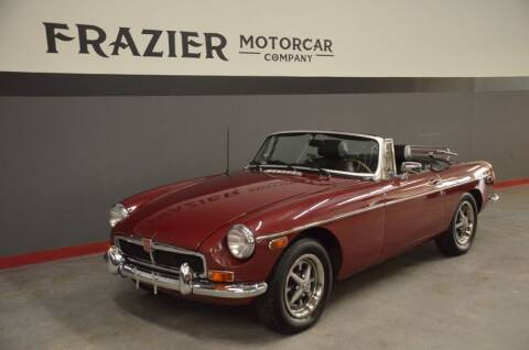 1974 MG MGB for sale at Frazier Motorcar Company in Lebanon TN