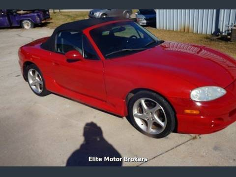 2003 Mazda MX-5 Miata for sale at Elite Motor Brokers in Austell GA