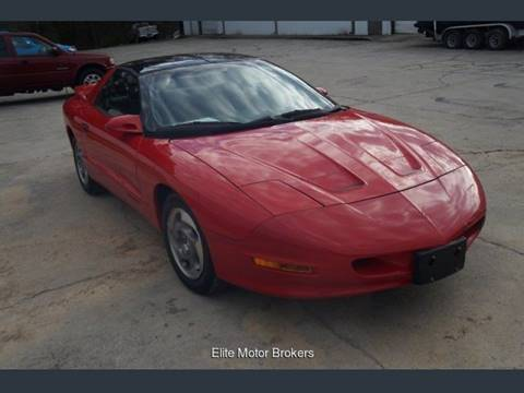 1995 Pontiac Firebird for sale at Elite Motor Brokers in Austell GA